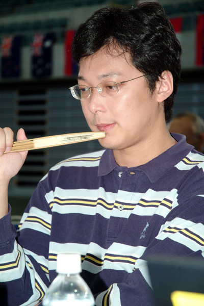 Yuqing Hu of China, WAGC 2009 champion