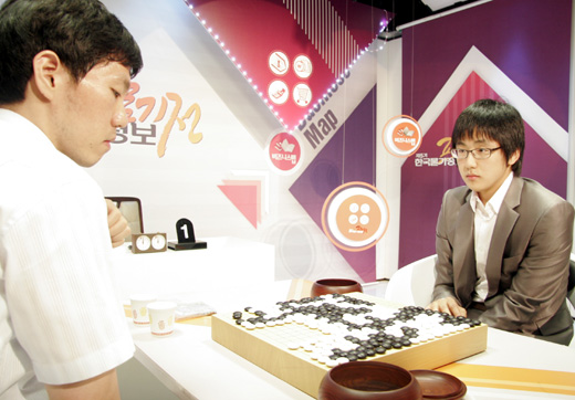 Kim Jiseok 5p Defeated Lee Changho 2:0 in Prices Information Cup 2009